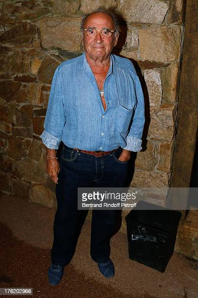 Actor Claude Brasseur attends 'Le Roi se meurt' on the last day of the 29th Ramatuelle Festival on August 11 2013 in Ramatuelle France