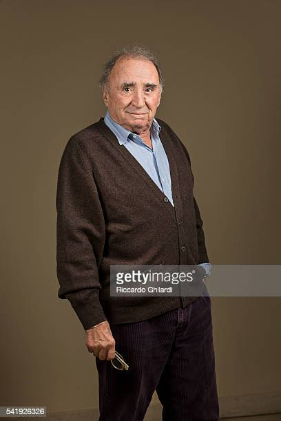Actor Claude Brasseur is photographed for Self Assignment on March 5, 2016 in Monte-Carlo, Monaco.