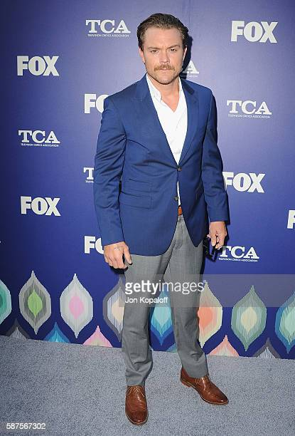 Actor Clayne Crawford arrives at the FOX Summer TCA Press Tour on August 8 2016 in Los Angeles California