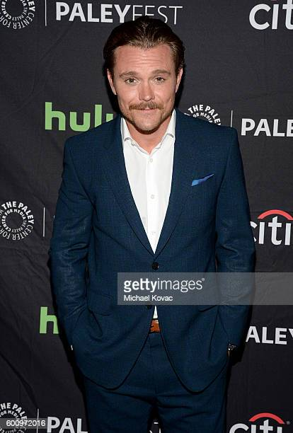 Actor Clayne Crawford arrives at The Paley Center for Media's 10th Annual PaleyFest Fall TV Previews honoring FOX's Lethal Weapon at the Paley Center...