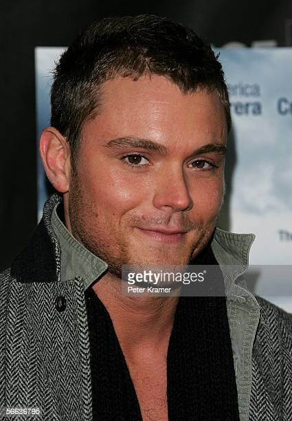 Actor Clayne Crawford arrives to the premiere of the film 'Steel City' during the 2006 Sundance Film Festival in Park City Utah