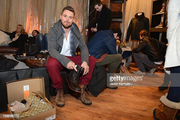 Actor Clayne Crawford attends Day 1 of UGG at Village At The Lift 2013 on January 18 2013 in Park City Utah