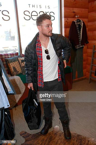 Actor Clayne Crawford attends Day 2 of Sears Shop Your Way Digital Recharge Lounge on January 19 2013 in Park City Utah
