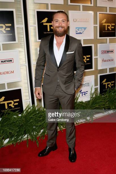 Actor Clayne Crawford attends Imagine Dragons' fifth annual Tyler Robinson Foundation Rise Up Gala benefiting families affected by pediatric cancer...