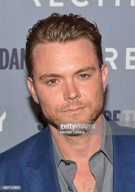 Actor Clayne Crawford attends Sundance TV's Season 2 premiere of 'RECTIFY' at Sundance Sunset Cinema on June 16 2014 in Los Angeles California