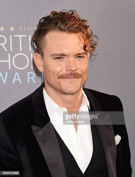 Actor Clayne Crawford attends the 21st Annual Critics' Choice Awards at Barker Hangar on January 17 2016 in Santa Monica California