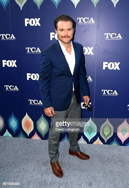 Actor Clayne Crawford attends the FOX Summer TCA Press Tour on August 8 2016 in Los Angeles California