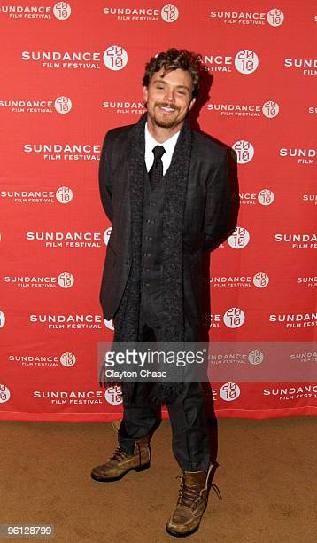 Actor Clayne Crawford attends The Perfect Host premiere during the 2010 Sundance Film Festival at Egyptian Theatre on January 23 2010 in Park City...