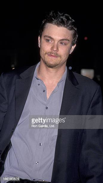 Actor Clayne Crawford attends the premiere of 'A Walk To Remember' on January 23 2002 at Grauman Theater in Hollywood California