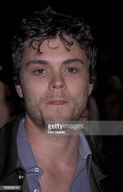 Actor Clayne Crawford attends the premiere of 'From Hell' on October 17 2001 at Mann Village Theater in Westwood California