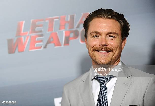 Actor Clayne Crawford attends the premiere of Lethal Weapon at NeueHouse Hollywood on September 12 2016 in Los Angeles California