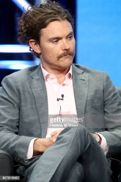 Actor Clayne Crawford of 'Lethal Weapon' speaks onstage during the FOX portion of the 2017 Summer Television Critics Association Press Tour at The...