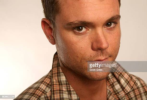 Actor Clayne Crawford of the film God's Beach poses for a portrait at the Amex Insider's Center during the 2008 Tribeca Film Festival on April 25...