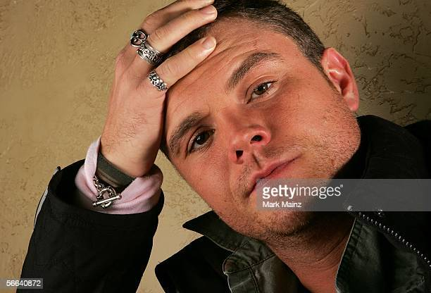 Actor Clayne Crawford poses for a portrait at the Getty Images Portrait Studio during the 2006 Sundance Film Festival on January 20 2006 in Park City...