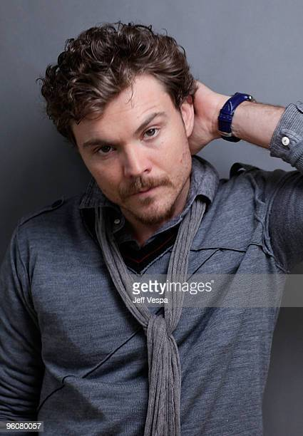 Actor Clayne Crawford poses for a portrait during the 2010 Sundance Film Festival held at the WireImage Portrait Studio at The Lift on January 23...