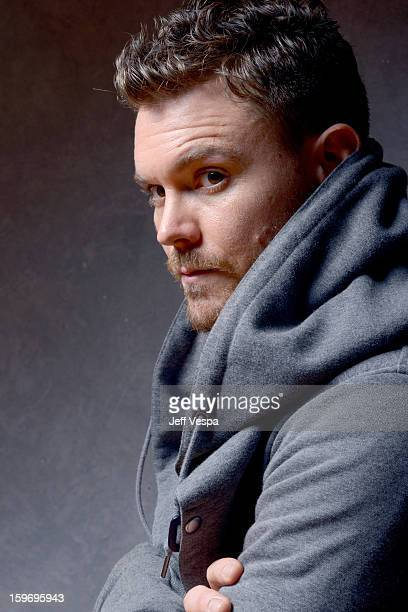 Actor Clayne Crawford poses for a portrait during the 2013 Sundance Film Festival at the WireImage Portrait Studio at Village At The Lift on January...