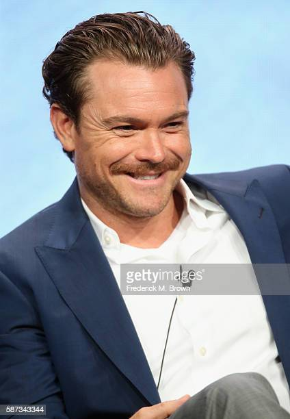 Actor Clayne Crawford speaks onstage at the 'Lethal Weapon' panel discussion during the FOX portion of the 2016 Television Critics Association Summer...