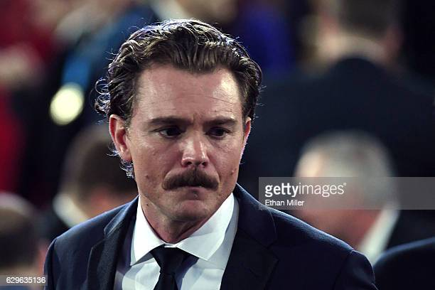 Actor Clayne Crawford walks in the audience during the 22nd Annual Critics' Choice Awards at Barker Hangar on December 11 2016 in Santa Monica...