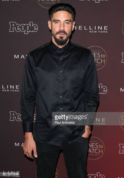Actor Clayton Cardenas attends People's 'Ones To Watch' party at NeueHouse Hollywood on October 4 2017 in Los Angeles California