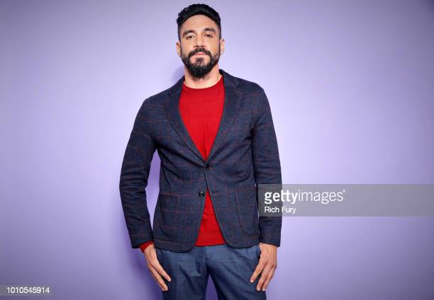 Actor Clayton Cardenas of FX's 'Mayans MC' poses for a portrait during the 2018 Summer Television Critics Association Press Tour at The Beverly...
