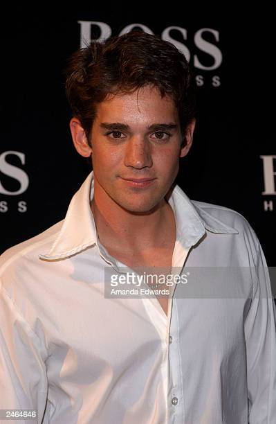 Actor Clayton Watson arrives at the grand reopening party of the Hugo Boss Rodeo store on September 4 2003 in Beverly Hills California