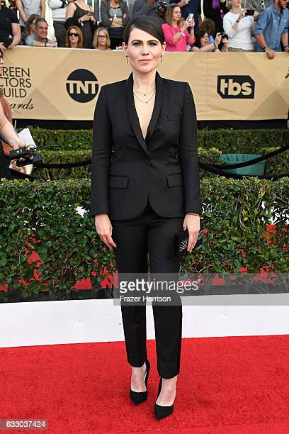 Actor Clea DuVall attends The 23rd Annual Screen Actors Guild Awards at The Shrine Auditorium on January 29 2017 in Los Angeles California 26592_008