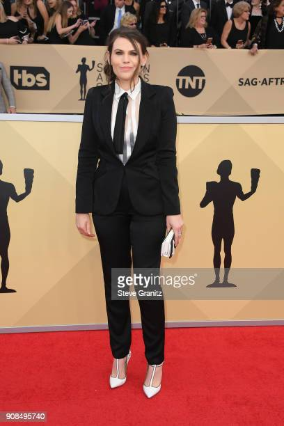 Actor Clea DuVall attends the 24th Annual Screen Actors Guild Awards at The Shrine Auditorium on January 21 2018 in Los Angeles California