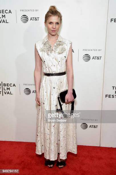 Actor Clemence Poesy attends the National Geographic premiere screening of 'Genius Picasso' on April 20 2018 at the Tribeca Film Festival in New York...