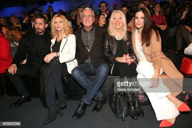 Actor Clemens Schick Actress Veronica Ferres and Founder and CEO of Marc Cain Helmut Schlotterer and his wife Ute Schlotterer and Actress Bettina...