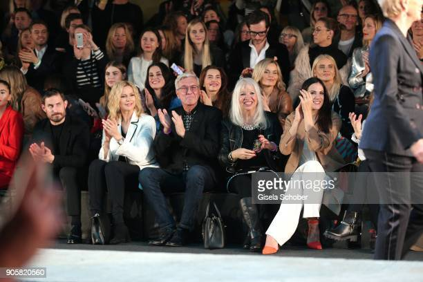 Actor Clemens Schick Actress Veronica Ferres Founder and CEO of Marc Cain Helmut Schlotterer and his wife Ute Schlotterer Actress Bettina Zimmermann...