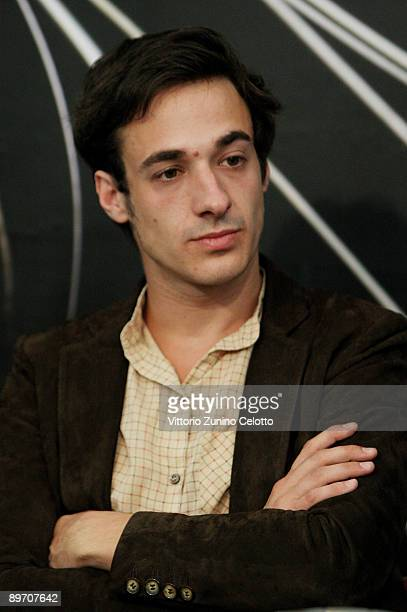 Actor Clement Roussier attends the ' L'Insurgee' press conference during the 62nd Locarno International Film Festival on August 8 2009 in Locarno...