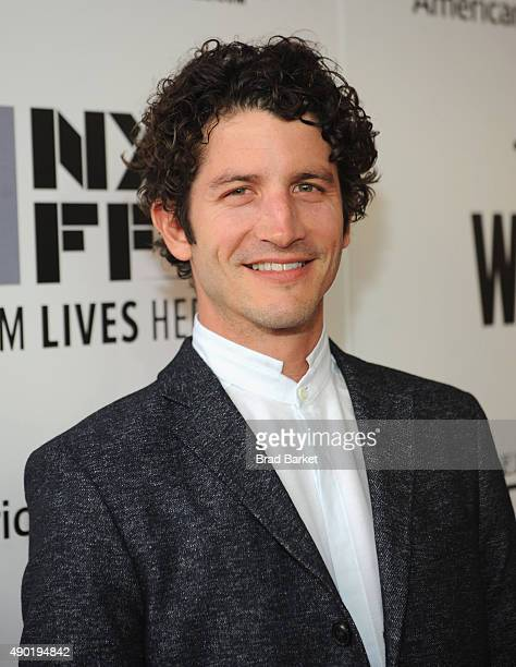 Actor Clement Sibony attends the Opening Night Gala Presentation and 'The Walk' World Premiere during 53rd New York Film Festival at Alice Tully Hall...