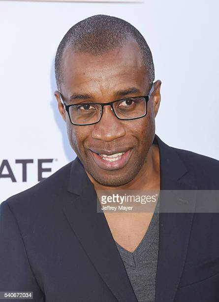 Actor Clement Virgo arrives at the premiere of OWN's 'Greenleaf' at The Lot on June 15 2016 in West Hollywood California