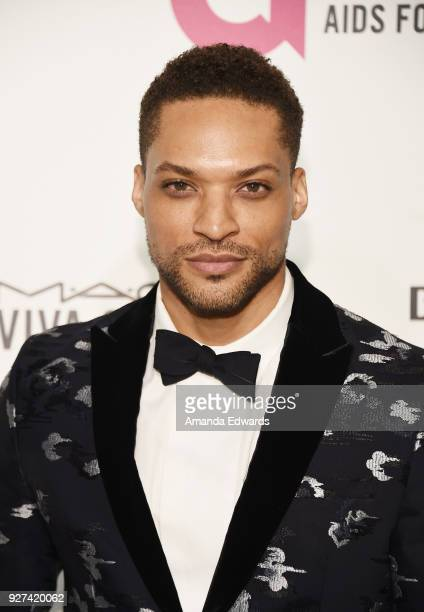 Actor Cleo Anthony arrives at the 26th Annual Elton John AIDS Foundation's Academy Awards Viewing Party on March 4 2018 in West Hollywood California