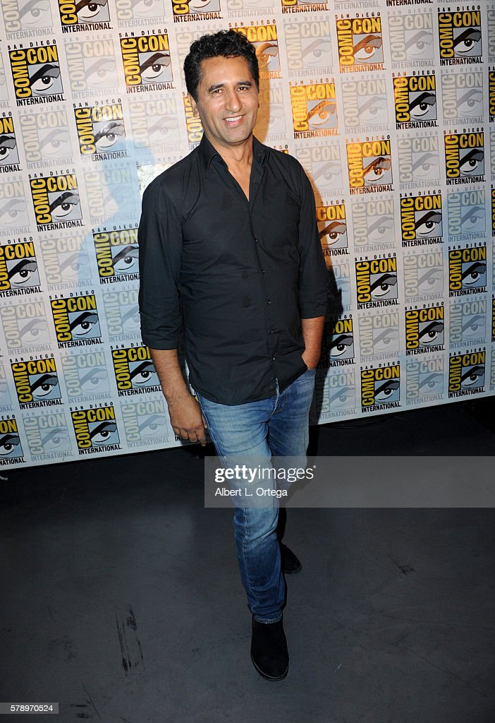 Actor Cliff Curtis attends AMC's 'Fear The Walking Dead' Panel during Comic-Con International 2016 at San Diego Convention Center on July 22, 2016 in San Diego, California.