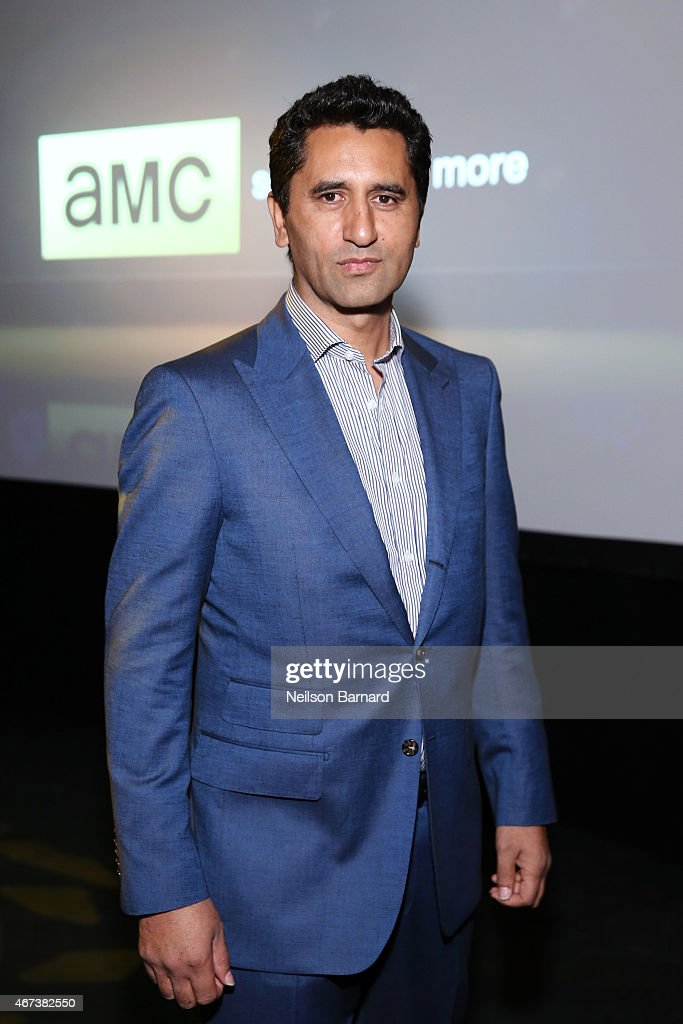 Actor Cliff Curtis attends the AMC Ad Sales Event celebrating AMC's 'The Walking Dead' at The Highline Ballroom on March 23, 2015 in New York City.