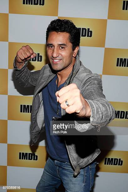 Actor Cliff Curtis of Fear The Walking Dead attends the IMDb Yacht at San Diego ComicCon 2016 Day Three at The IMDb Yacht on July 23 2016 in San...
