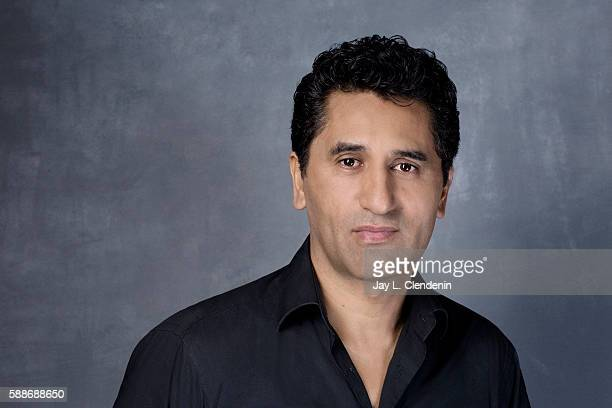 Actor Cliff Curtis of 'Fear the Walking Dead' is photographed for Los Angeles Times at San Diego Comic Con on July 22 2016 in San Diego California