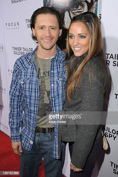 Actor Clifton Collins Jr and Megan Ozurovich arrive at the premiere of Focus Features' Tinker Tailor Soldier Spy at Arclight Cinema's Cinerama Dome...