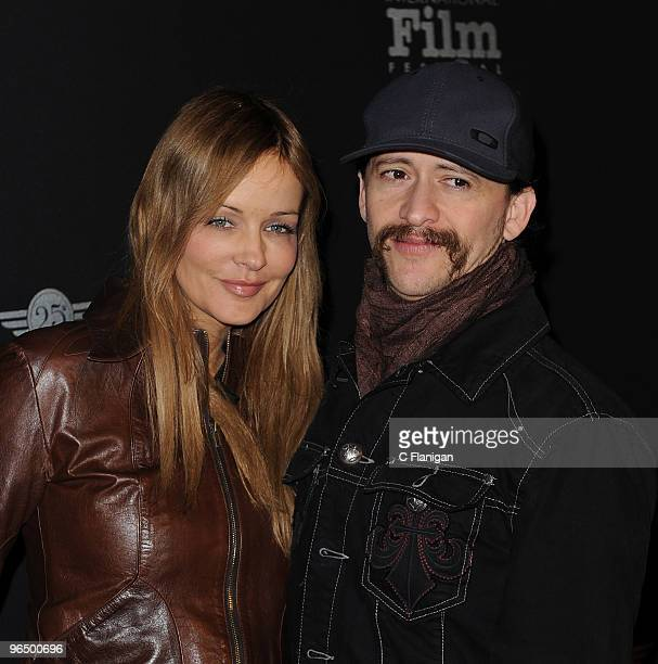Actor Clifton Collins Jr and Verina Marcel attend the 2010 Virtuoso Awards presented by Chopin Vodka during the 25th Annual Santa Barbara...