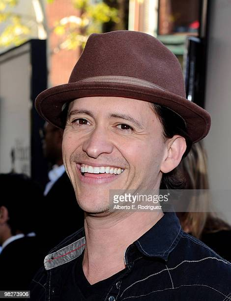Actor Clifton Collins Jr arrives at the premiere of IndustryWorks' 'The Perfect Game' on April 5 2010 in Los Angeles California