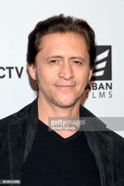 Actor Clifton Collins Jr attends a special screening of 'Small Town Crime' at the Vista Theatre on January 10 2018 in Los Angeles California