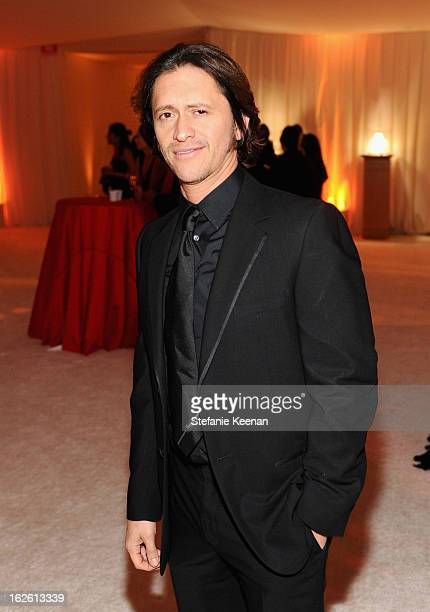 Actor Clifton Collins Jr attends Chopard at 21st Annual Elton John AIDS Foundation Academy Awards Viewing Party at West Hollywood Park on February 24...