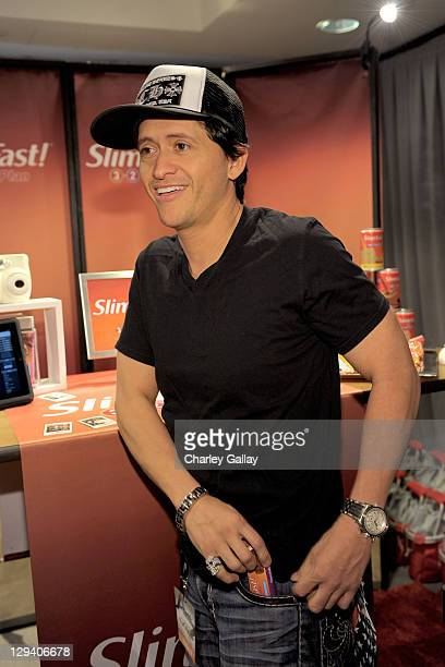 Actor Clifton Collins Jr attends SlimFast at the Access Hollywood 'Stuff You Must' Lounge produced by On 3 Productions at the Sofitel Hotel on...