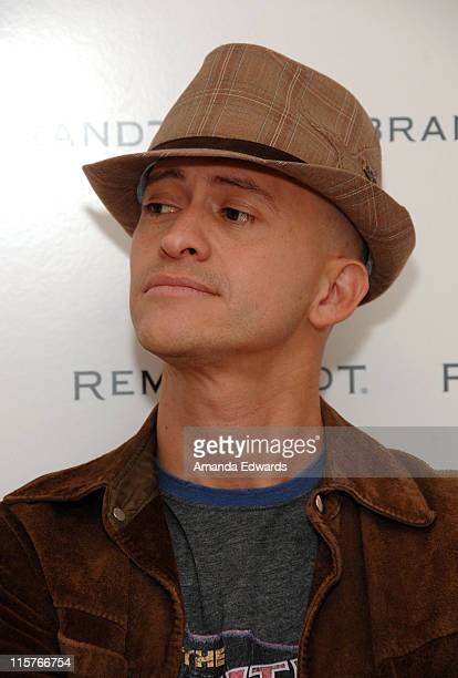 Actor Clifton Collins Jr attends The Belvedere Luxury Lounge in honor of the 80th Academy Awards featuring Rembrandt held at the Four Seasons Hotel...