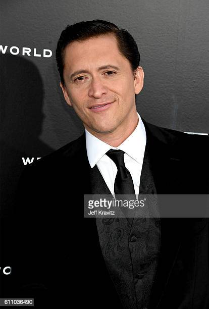 Actor Clifton Collins Jr attends the premiere of HBO's 'Westworld' at TCL Chinese Theatre on September 28 2016 in Hollywood California