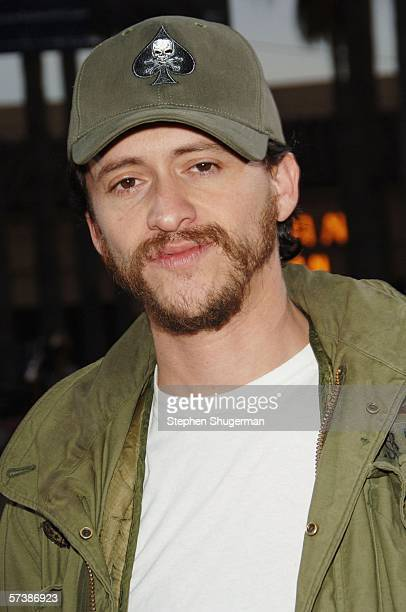 """Actor Clifton Collins, Jr. Attends the premiere of TriStar Pictures' """"Silent Hill"""" at the Egyptian Theatre on April 20, 2006 in Hollywood, California."""