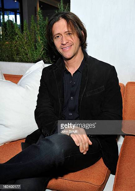 Actor Clifton Collins Jr attends the Women In Film's 6th Annual PreOscar Party hosted by Perrier Jouet MAC Cosmetics and MaxMara at Fig Olive on...