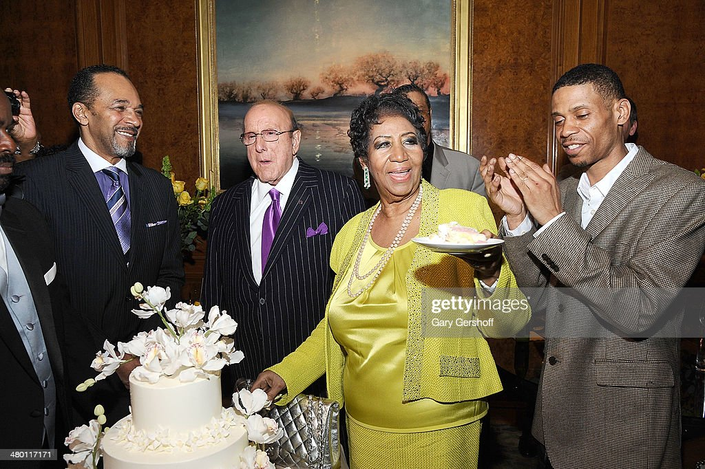Aretha Franklin's 72nd Birthday Celebration : News Photo