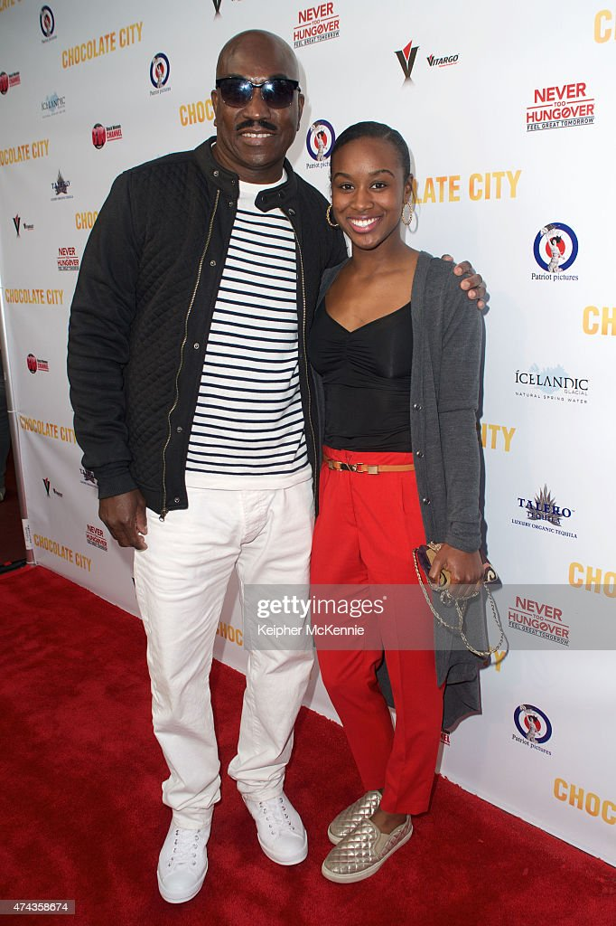 Photo of Clifton Powell  & his  Daughter  May Powell